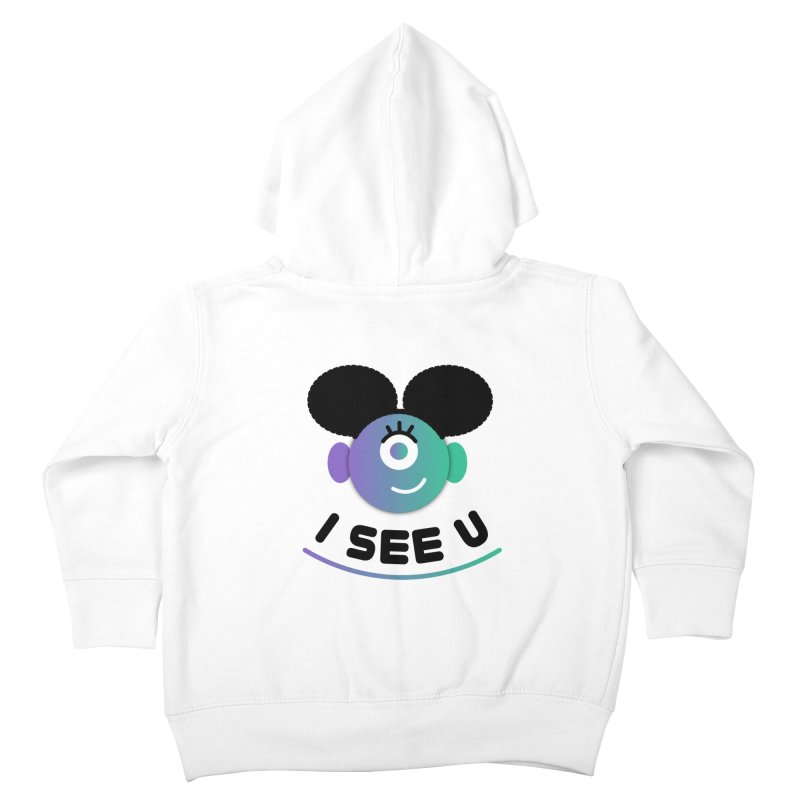 I See You! Kids Toddler Zip-Up Hoody by ashleysladeart's Artist Shop