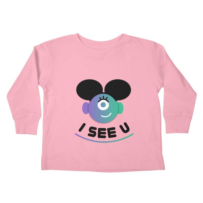 I See You! Kids Toddler Longsleeve T-Shirt by ashleysladeart's Artist Shop