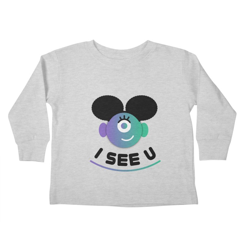 I See You! Kids Toddler Longsleeve T-Shirt by ashleysladeart's Artist Shop