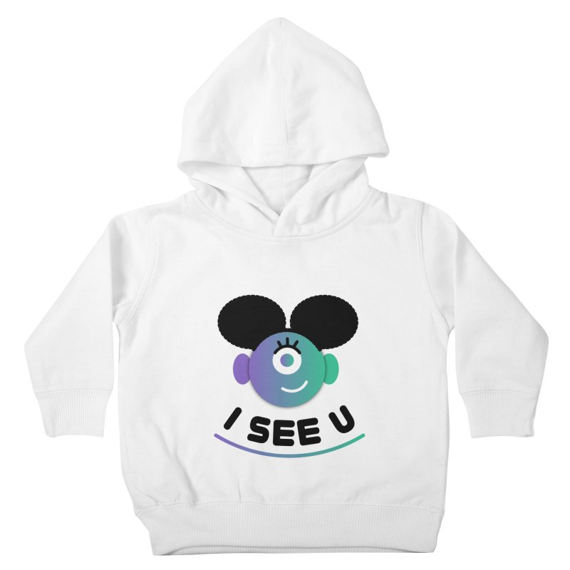 I See You! Kids Toddler Pullover Hoody by ashleysladeart's Artist Shop
