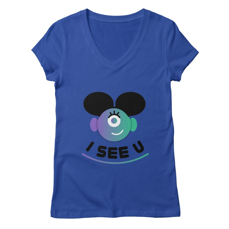 I See You! Women's Regular V-Neck by ashleysladeart's Artist Shop