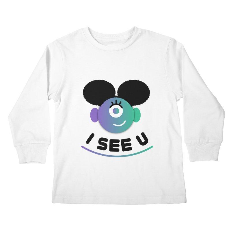 I See You! Kids Longsleeve T-Shirt by ashleysladeart's Artist Shop