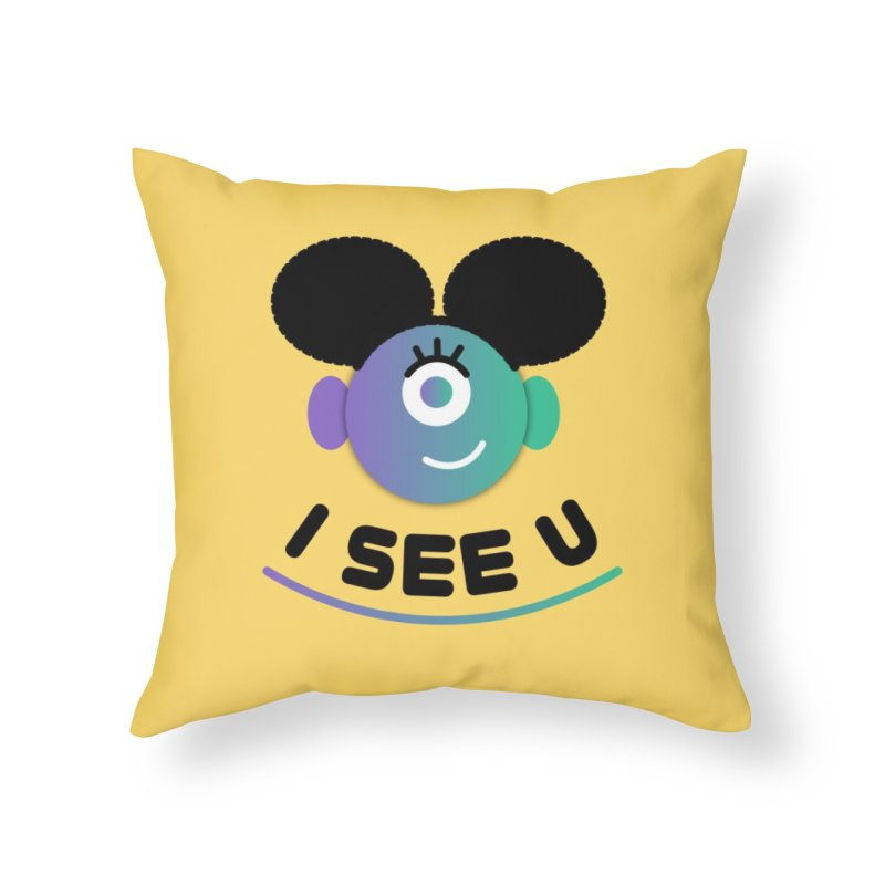 I See You! Home Throw Pillow by ashleysladeart's Artist Shop