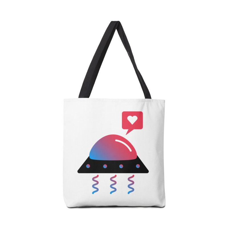 Space Love Accessories Tote Bag Bag by ashleysladeart's Artist Shop