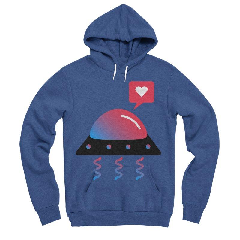 Space Love Women's Sponge Fleece Pullover Hoody by ashleysladeart's Artist Shop