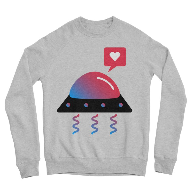 Space Love Women's Sponge Fleece Sweatshirt by ashleysladeart's Artist Shop
