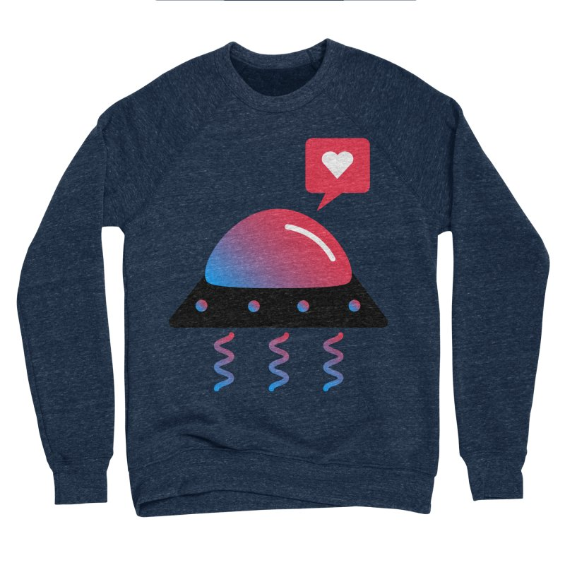 Space Love Men's Sponge Fleece Sweatshirt by ashleysladeart's Artist Shop