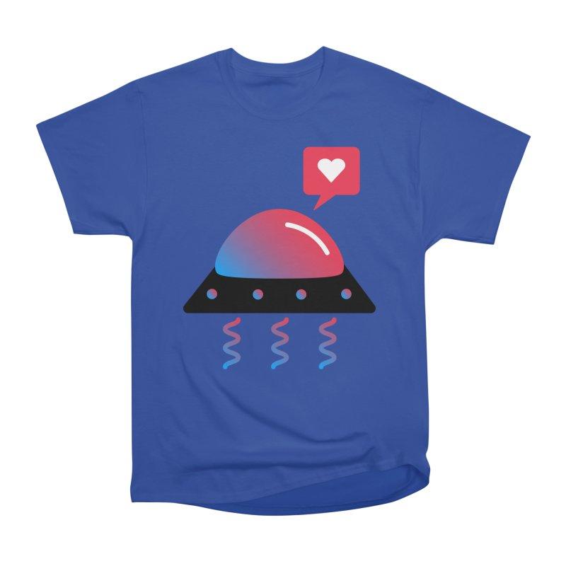 Space Love Men's T-Shirt by ashleysladeart's Artist Shop