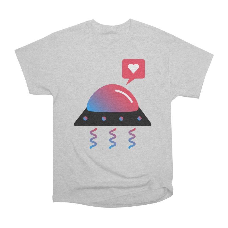 Space Love Men's Heavyweight T-Shirt by ashleysladeart's Artist Shop