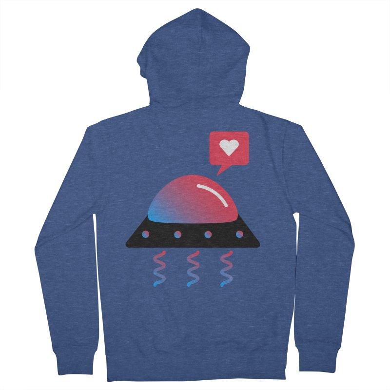 Space Love Men's Zip-Up Hoody by ashleysladeart's Artist Shop