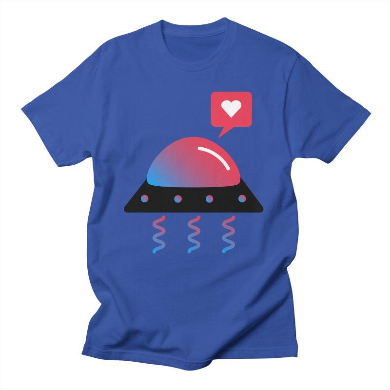 Space Love Women's Regular Unisex T-Shirt by ashleysladeart's Artist Shop