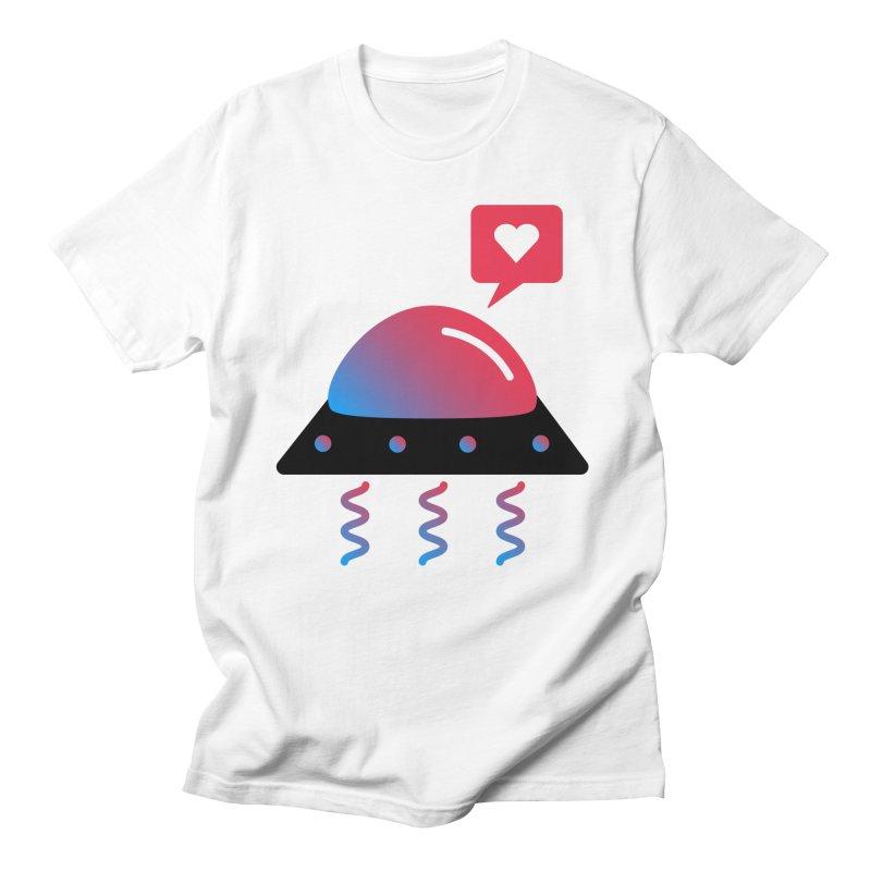 Space Love Men's Regular T-Shirt by ashleysladeart's Artist Shop