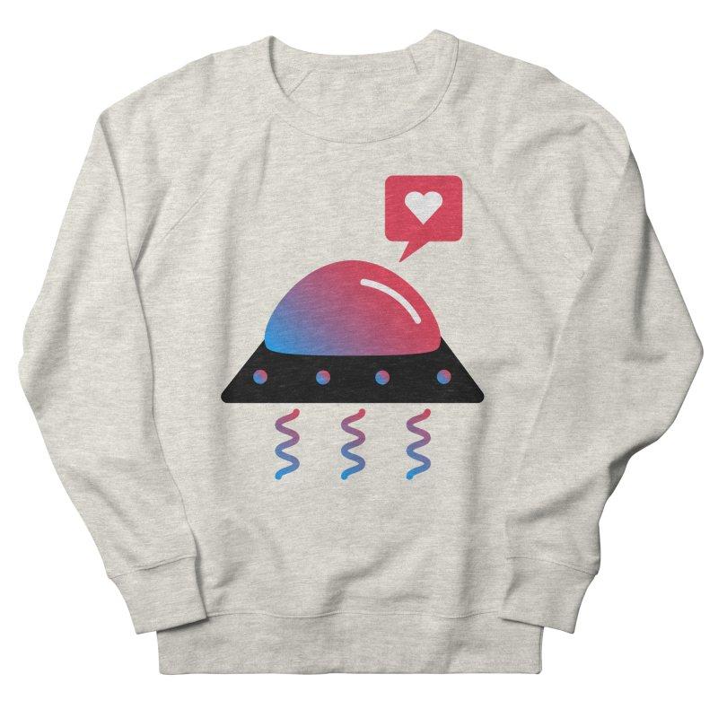 Space Love Women's French Terry Sweatshirt by ashleysladeart's Artist Shop