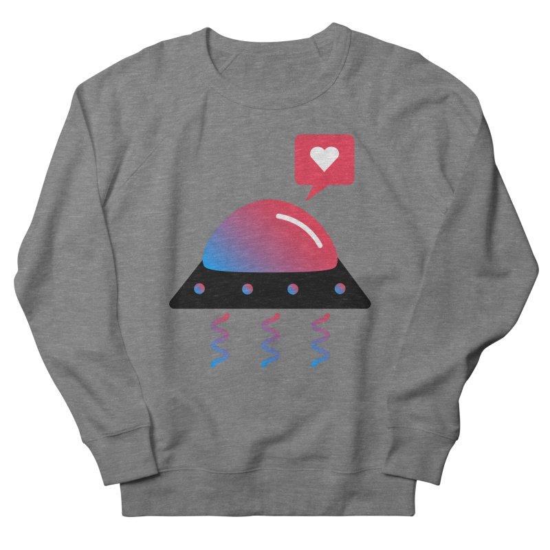 Space Love Men's French Terry Sweatshirt by ashleysladeart's Artist Shop