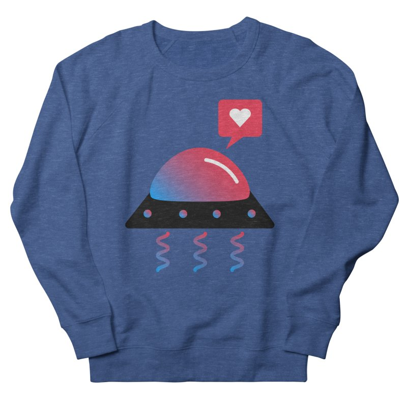 Space Love Men's French Terry Sweatshirt by ashleysladeart's Artist Shop