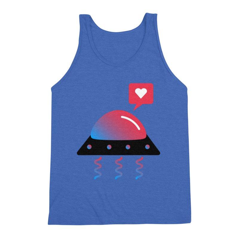 Space Love Men's Triblend Tank by ashleysladeart's Artist Shop