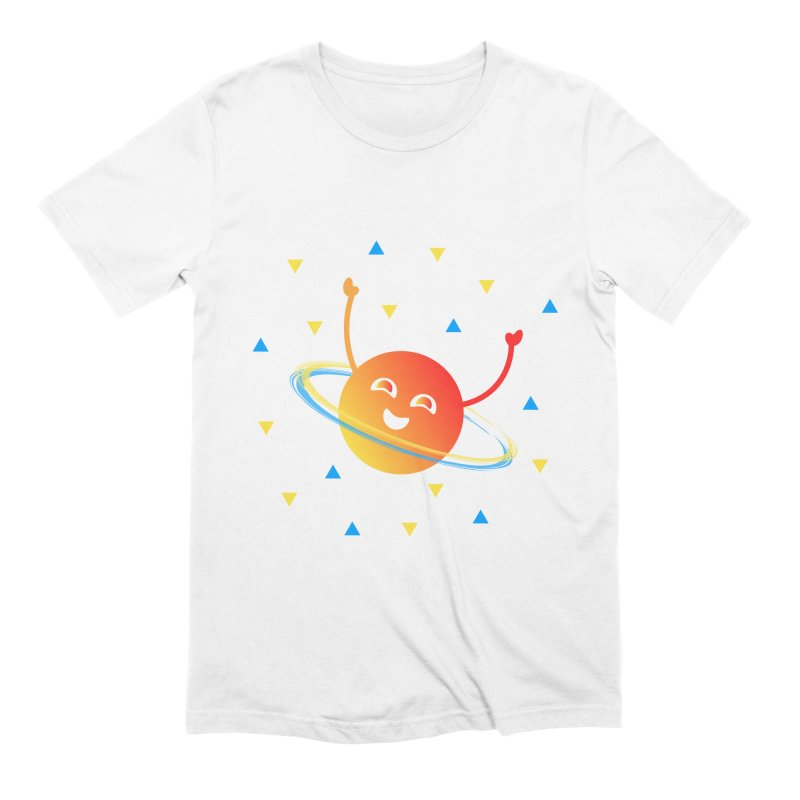 Party Planet Men's Extra Soft T-Shirt by ashleysladeart's Artist Shop