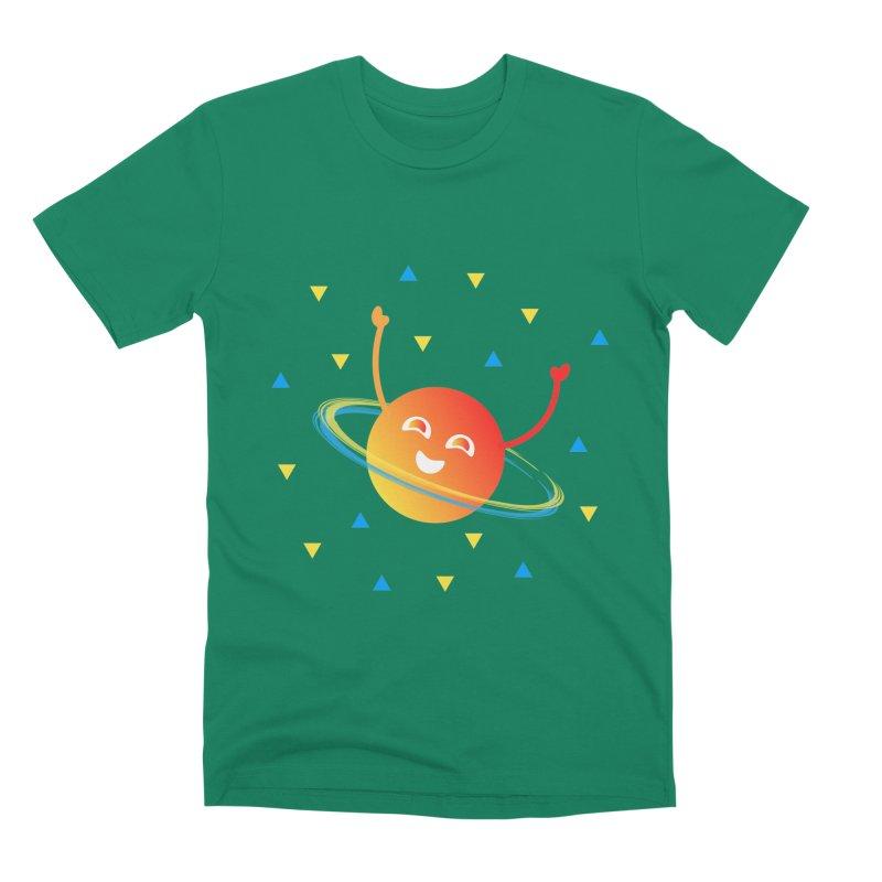 Party Planet Men's Premium T-Shirt by ashleysladeart's Artist Shop