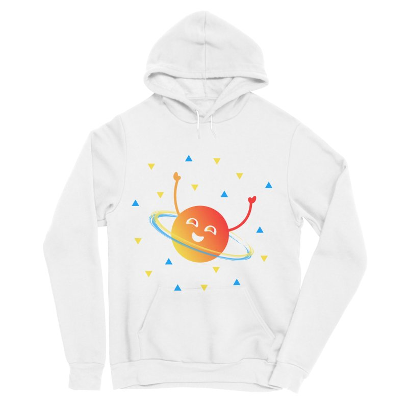 Party Planet Men's Pullover Hoody by ashleysladeart's Artist Shop