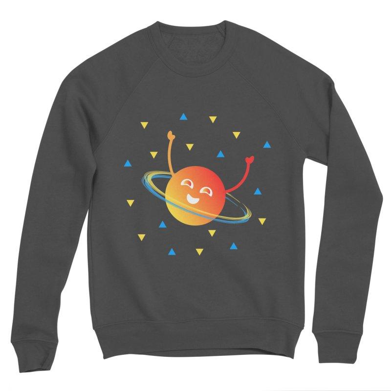 Party Planet Men's Sponge Fleece Sweatshirt by ashleysladeart's Artist Shop