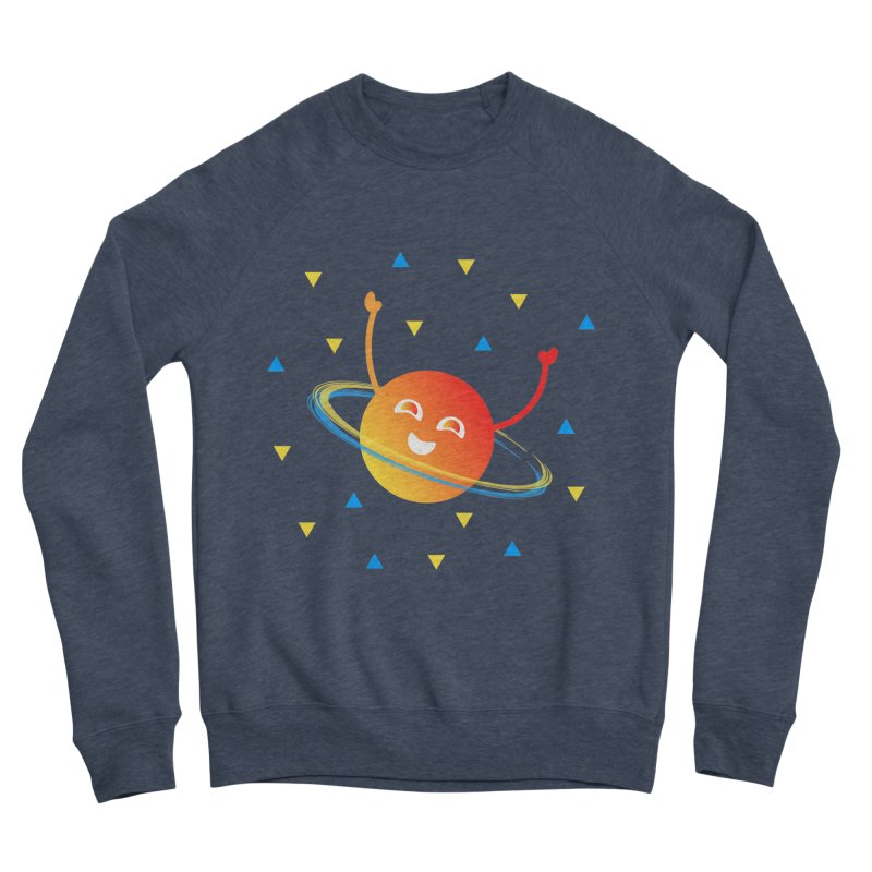 Party Planet Men's Sponge Fleece Sweatshirt by ashleysladeart's Artist Shop