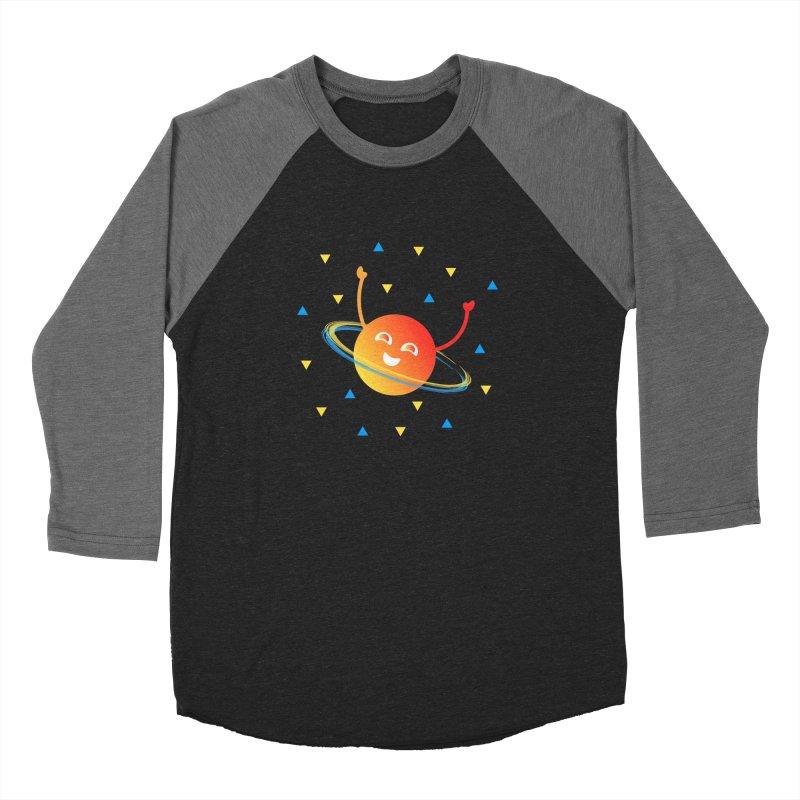 Party Planet Men's Baseball Triblend Longsleeve T-Shirt by ashleysladeart's Artist Shop
