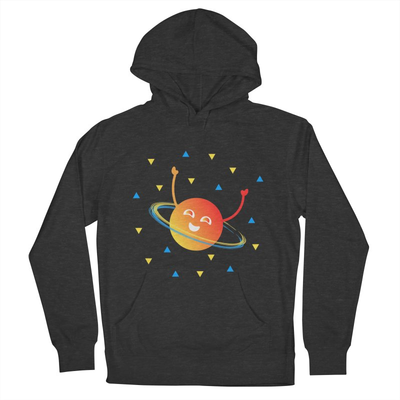 Party Planet Men's French Terry Pullover Hoody by ashleysladeart's Artist Shop