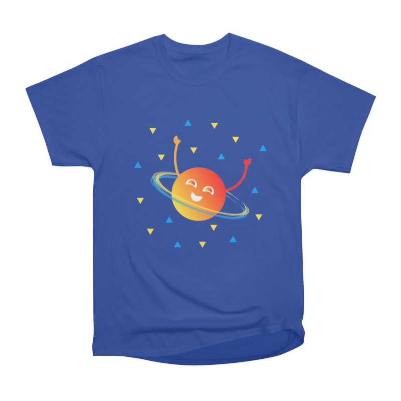 Party Planet Women's Heavyweight Unisex T-Shirt by ashleysladeart's Artist Shop