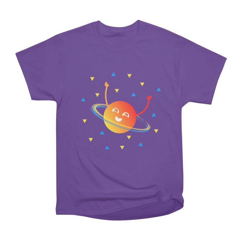Party Planet Women's Heavyweight Unisex T-Shirt by ashleysladeart's Artist Shop