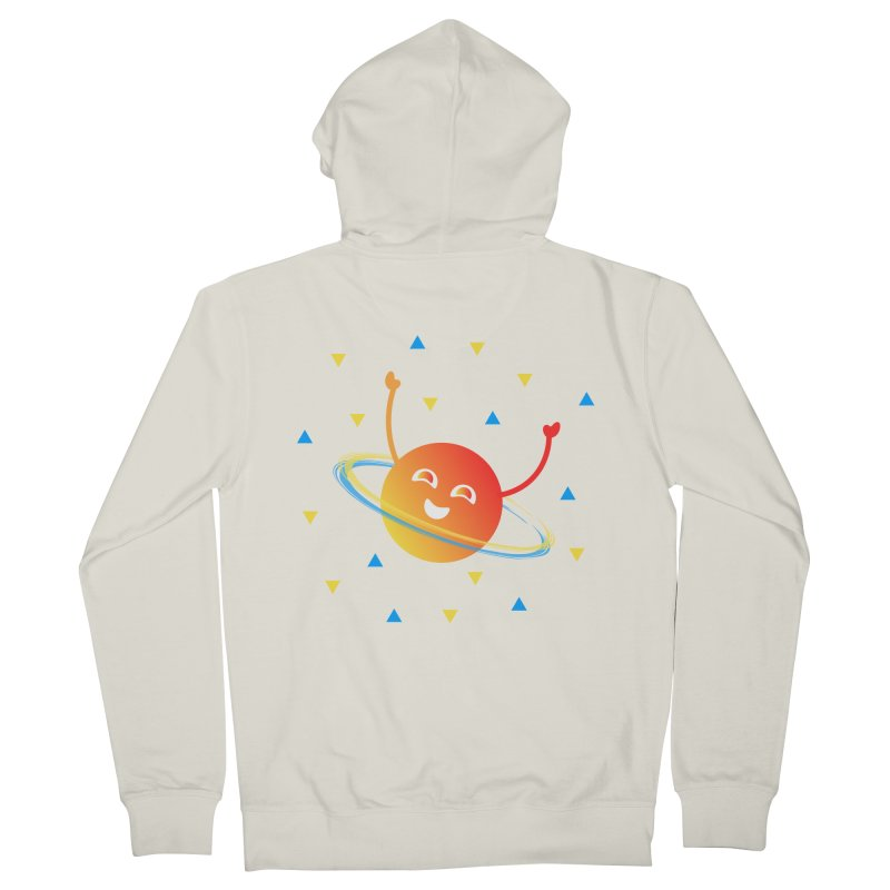 Party Planet Women's French Terry Zip-Up Hoody by ashleysladeart's Artist Shop