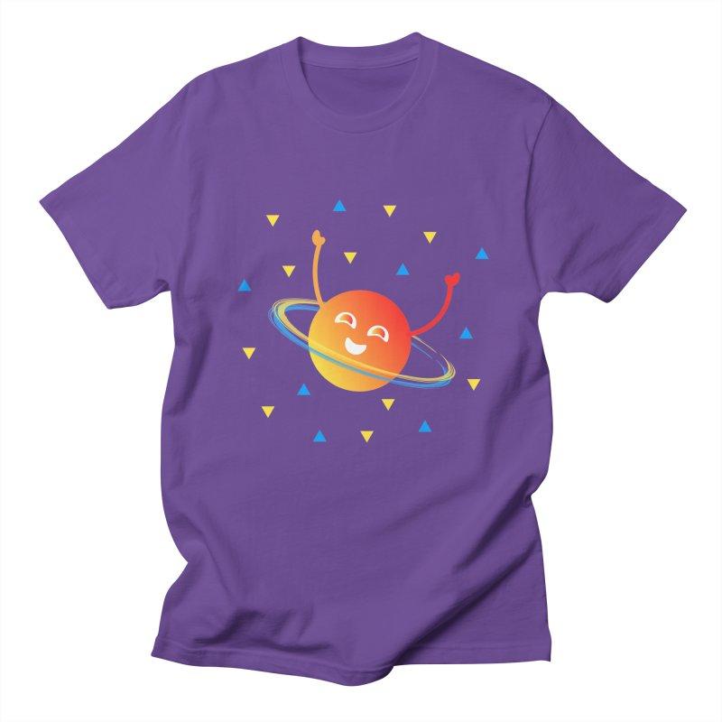 Party Planet Women's Regular Unisex T-Shirt by ashleysladeart's Artist Shop