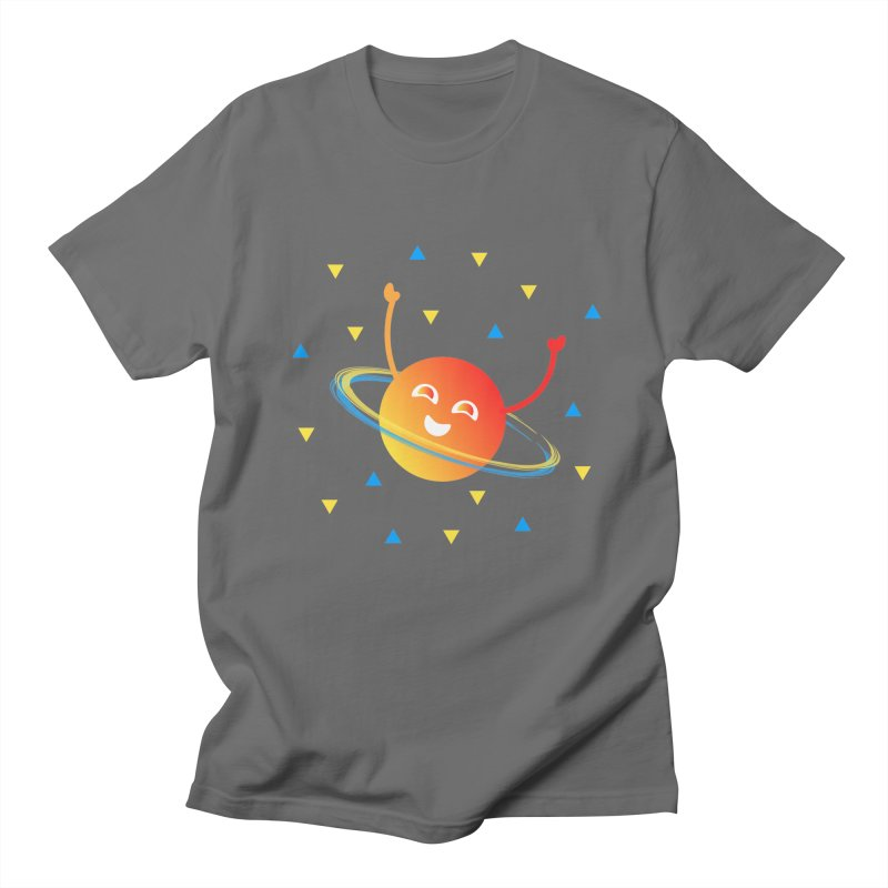 Party Planet Women's Regular Unisex T-Shirt by ashleysladeart's Artist Shop