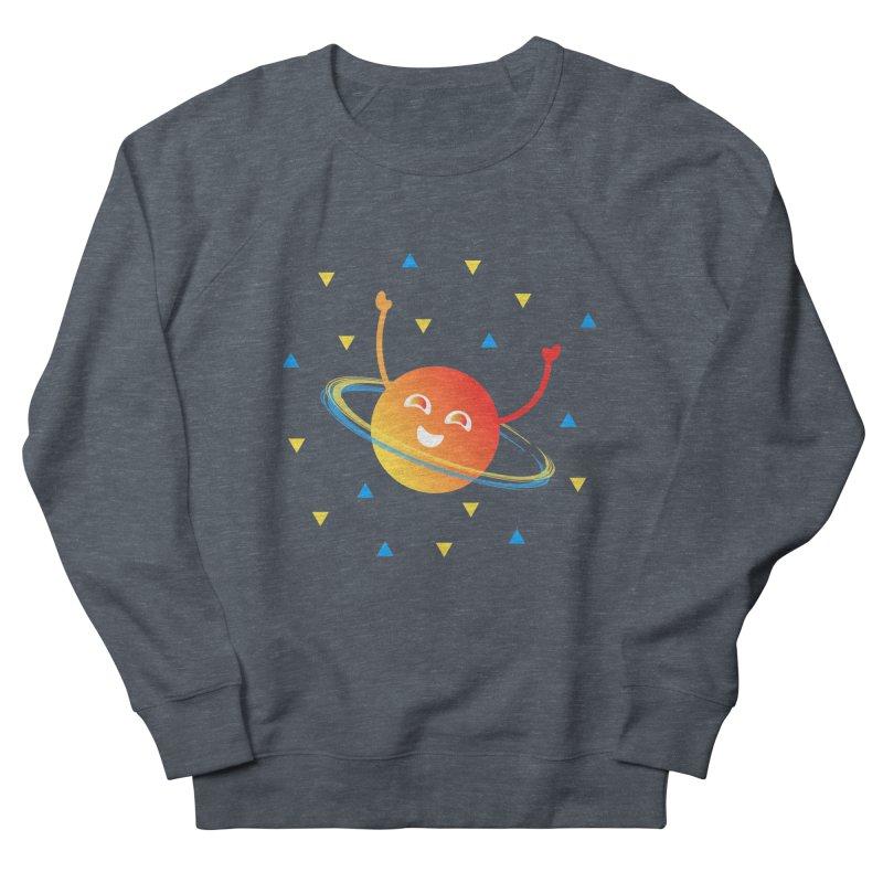 Party Planet Women's French Terry Sweatshirt by ashleysladeart's Artist Shop