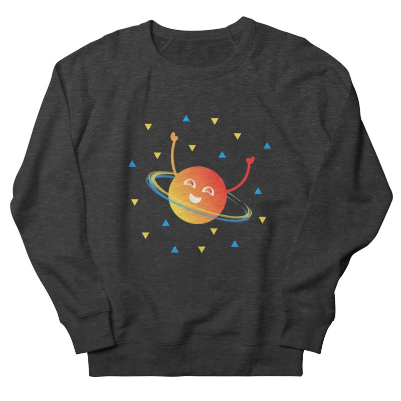 Party Planet Men's French Terry Sweatshirt by ashleysladeart's Artist Shop