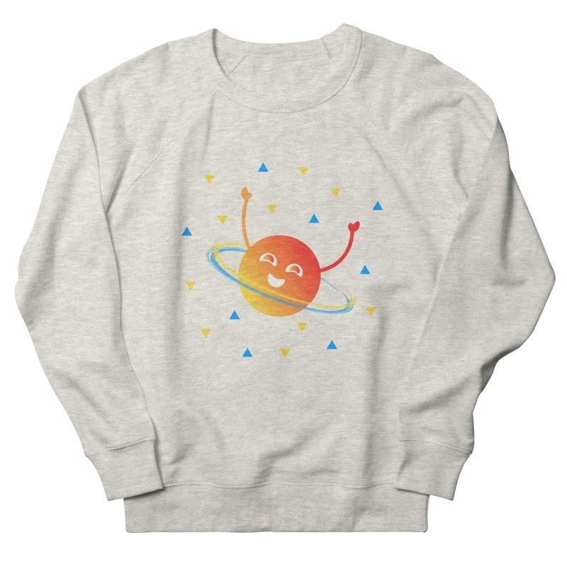 Party Planet Men's French Terry Sweatshirt by ashleysladeart's Artist Shop