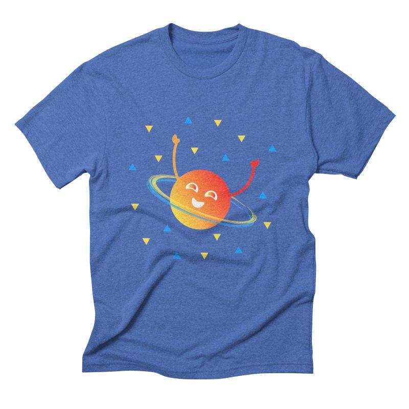 Party Planet Men's Triblend T-Shirt by ashleysladeart's Artist Shop