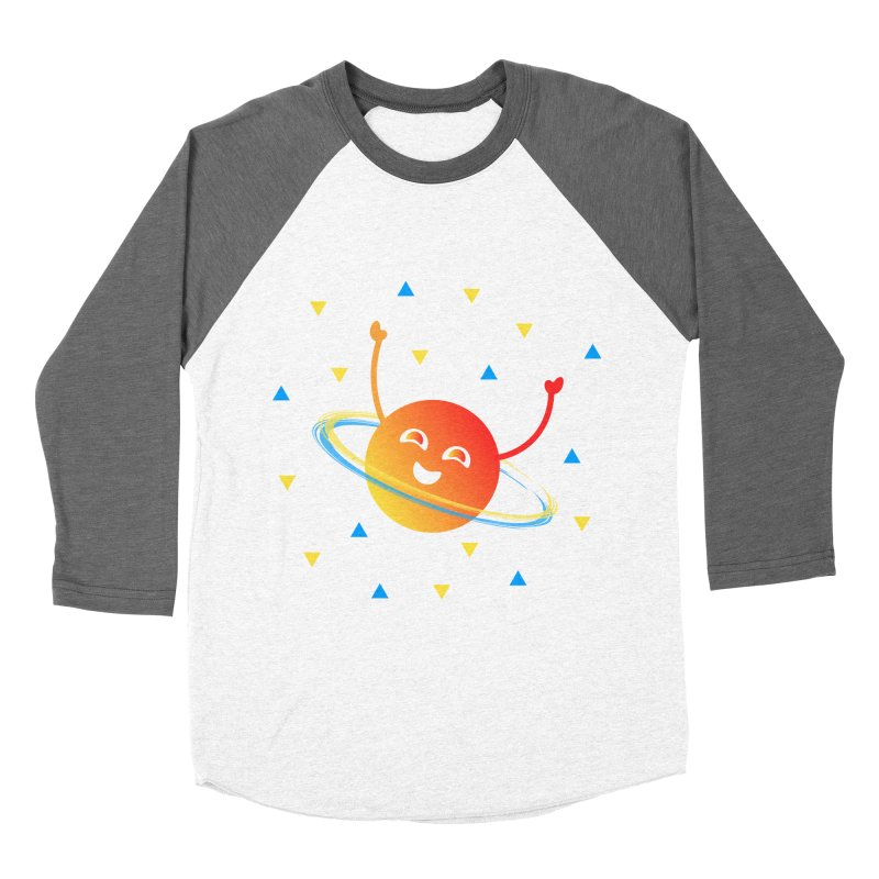 Party Planet Women's Baseball Triblend Longsleeve T-Shirt by ashleysladeart's Artist Shop