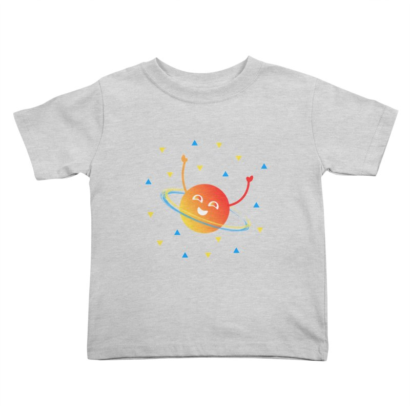 Party Planet Kids Toddler T-Shirt by ashleysladeart's Artist Shop