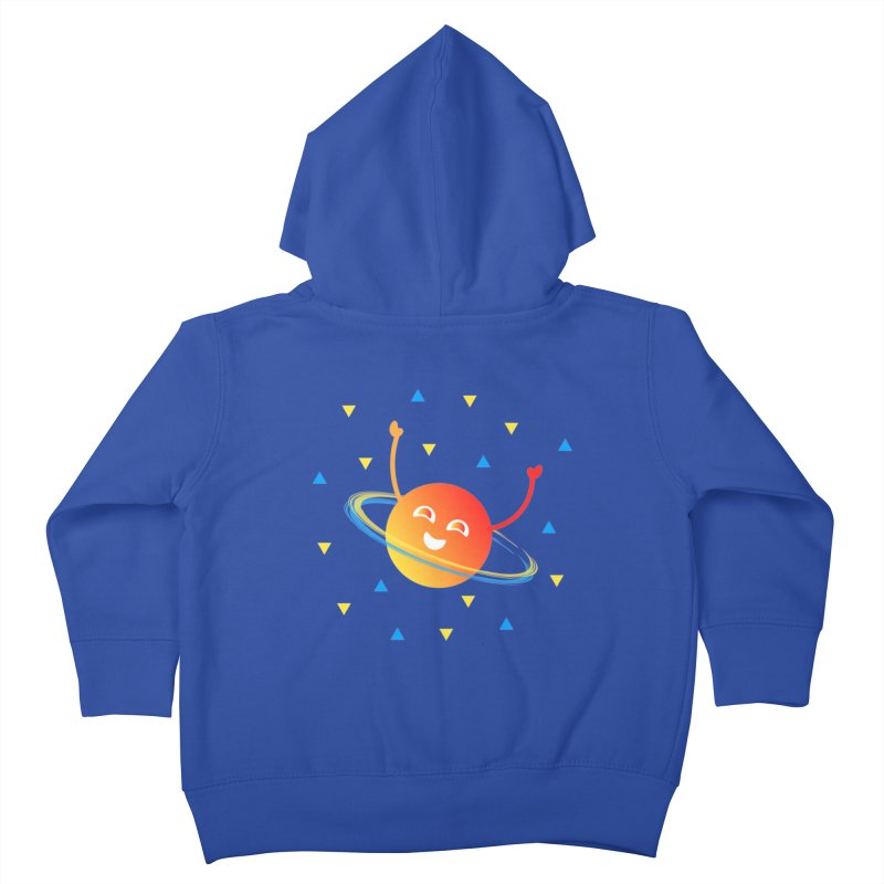 Party Planet Kids Toddler Zip-Up Hoody by ashleysladeart's Artist Shop