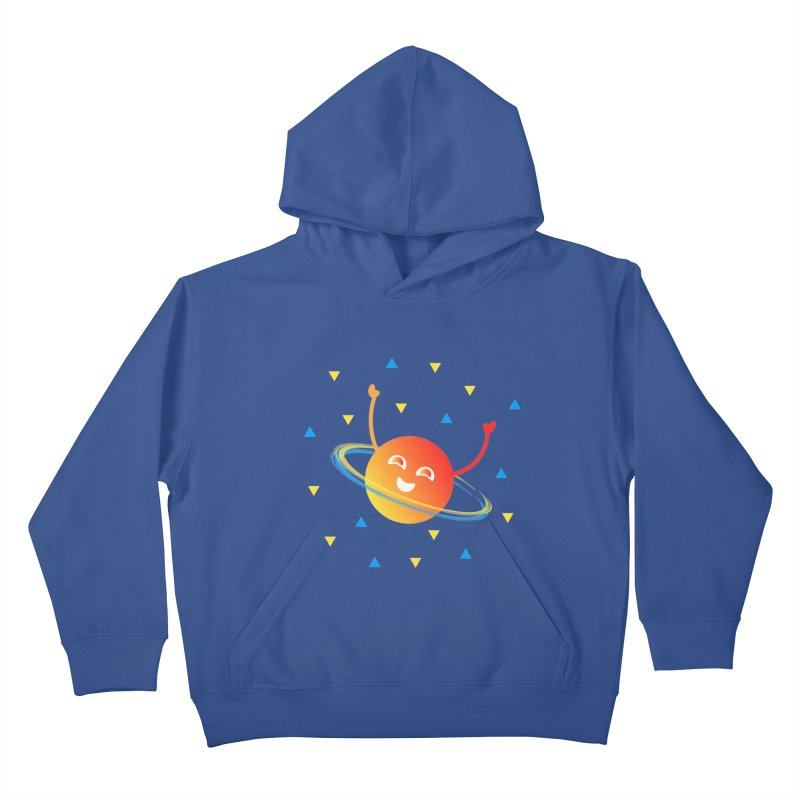 Party Planet Kids Pullover Hoody by ashleysladeart's Artist Shop
