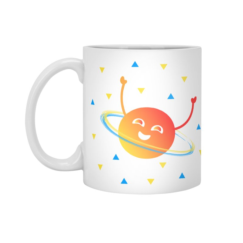 Party Planet Accessories Standard Mug by ashleysladeart's Artist Shop