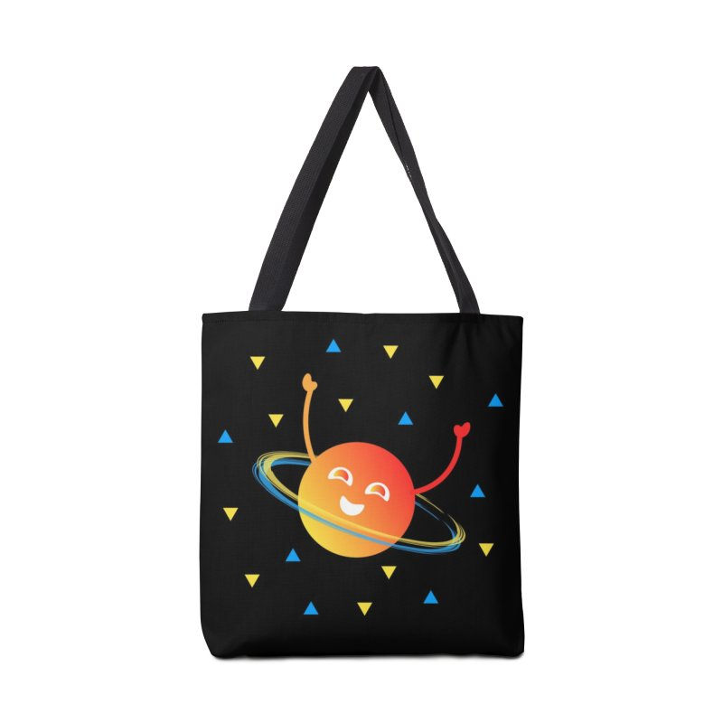 Party Planet Accessories Tote Bag Bag by ashleysladeart's Artist Shop