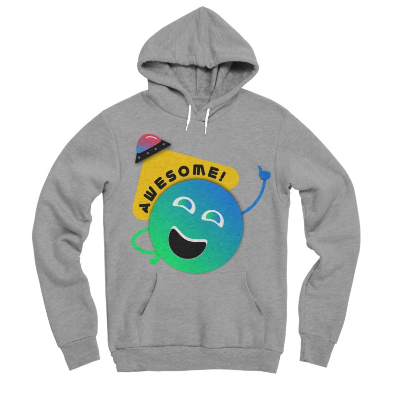 Awesome Planet! Women's Sponge Fleece Pullover Hoody by ashleysladeart's Artist Shop