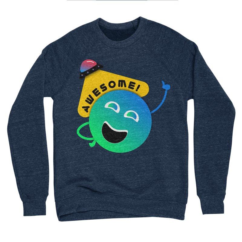 Awesome Planet! Women's Sponge Fleece Sweatshirt by ashleysladeart's Artist Shop