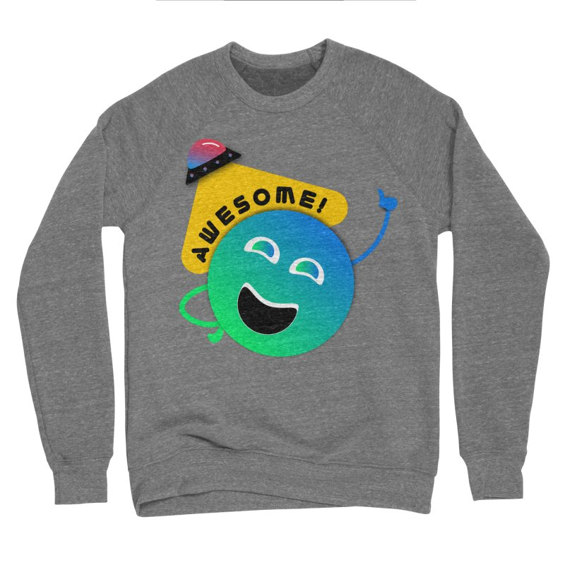 Awesome Planet! Women's Sponge Fleece Sweatshirt by ashleysladeart's Artist Shop