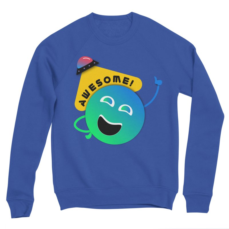 Awesome Planet! Women's Sweatshirt by ashleysladeart's Artist Shop