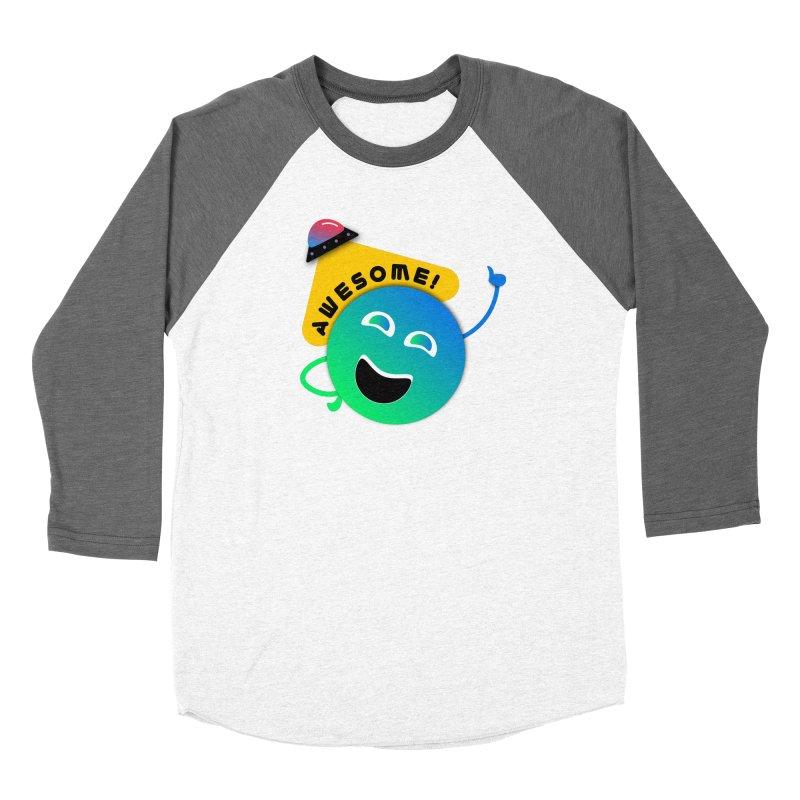 Awesome Planet! Women's Baseball Triblend Longsleeve T-Shirt by ashleysladeart's Artist Shop