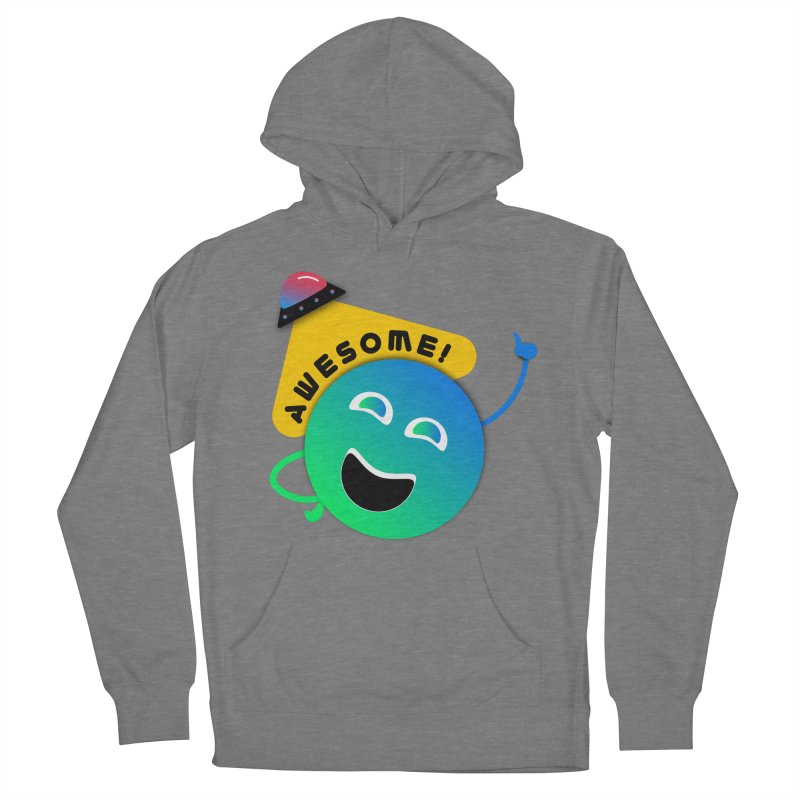 Awesome Planet! Women's Pullover Hoody by ashleysladeart's Artist Shop