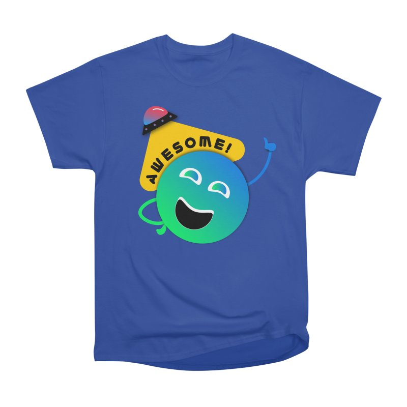 Awesome Planet! Women's T-Shirt by ashleysladeart's Artist Shop