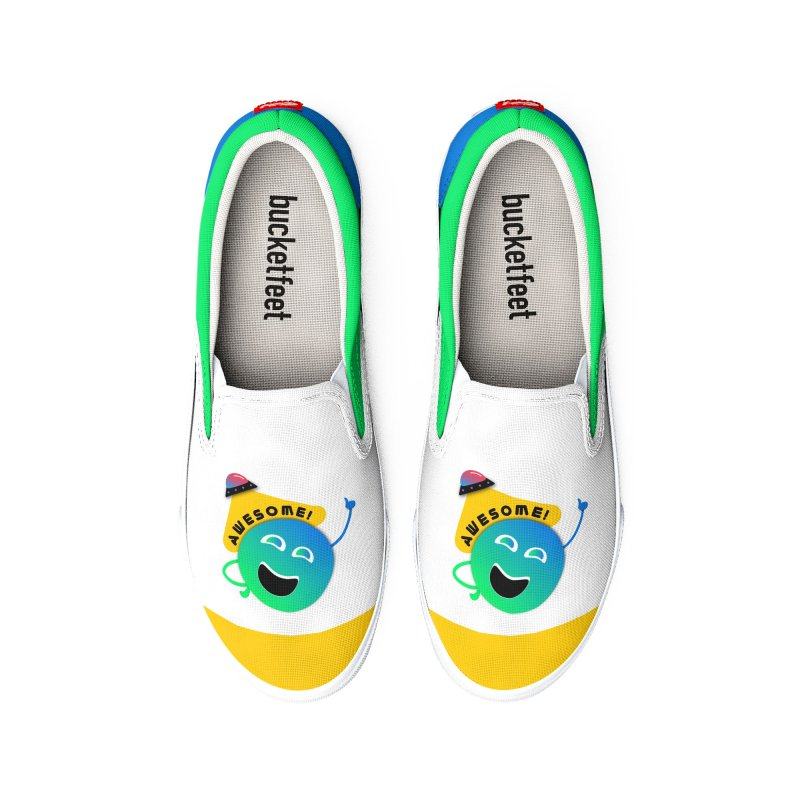 Awesome Planet! Men's Shoes by ashleysladeart's Artist Shop